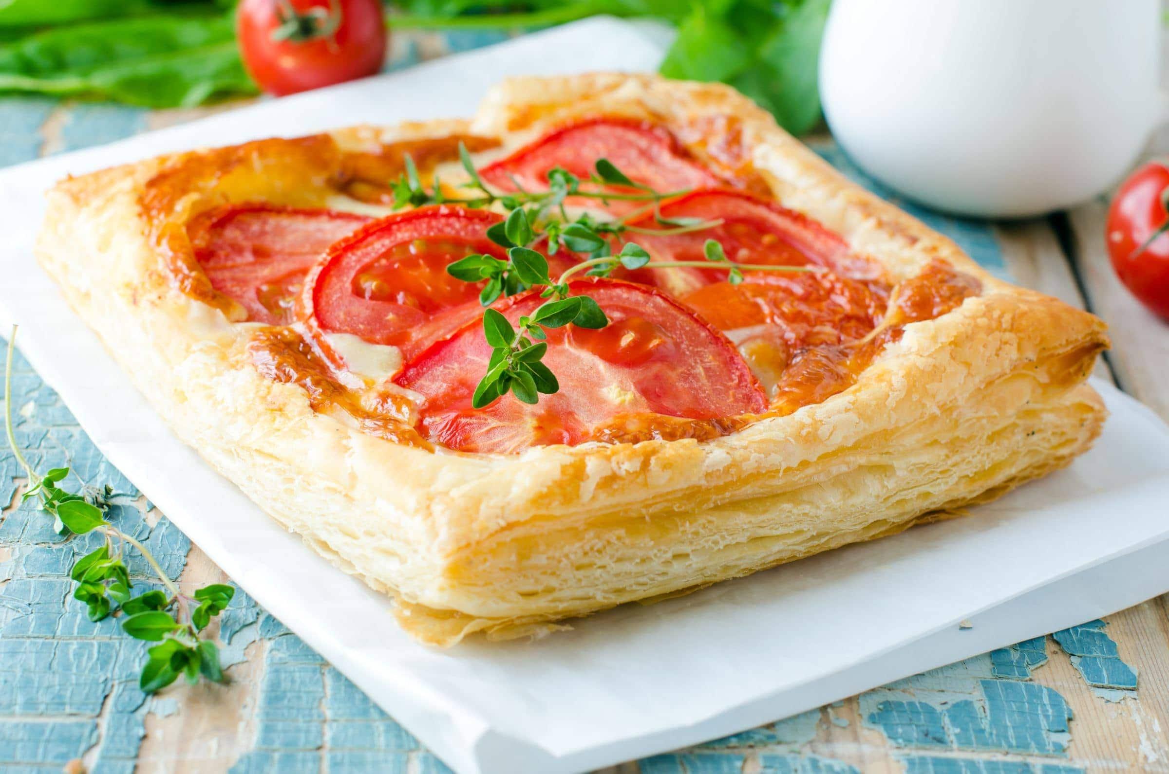 Ricetta sfogliatine al pomodoro il club delle ricette for Pasta ricette veloci