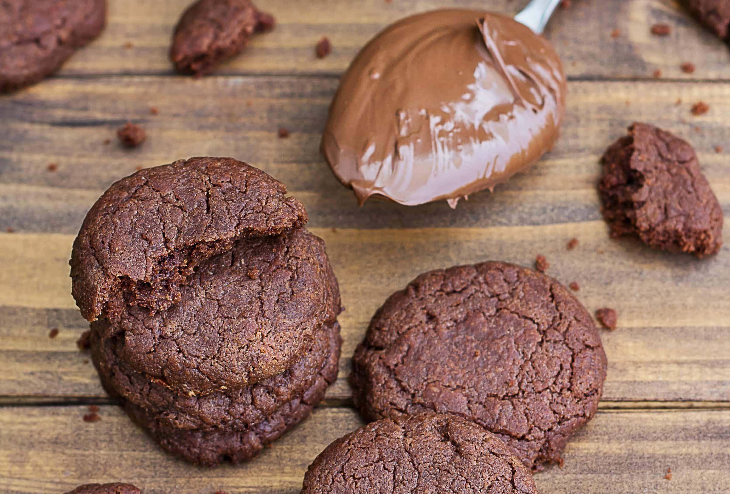 Ricetta Biscotti alla Nutella in 10 Minuti