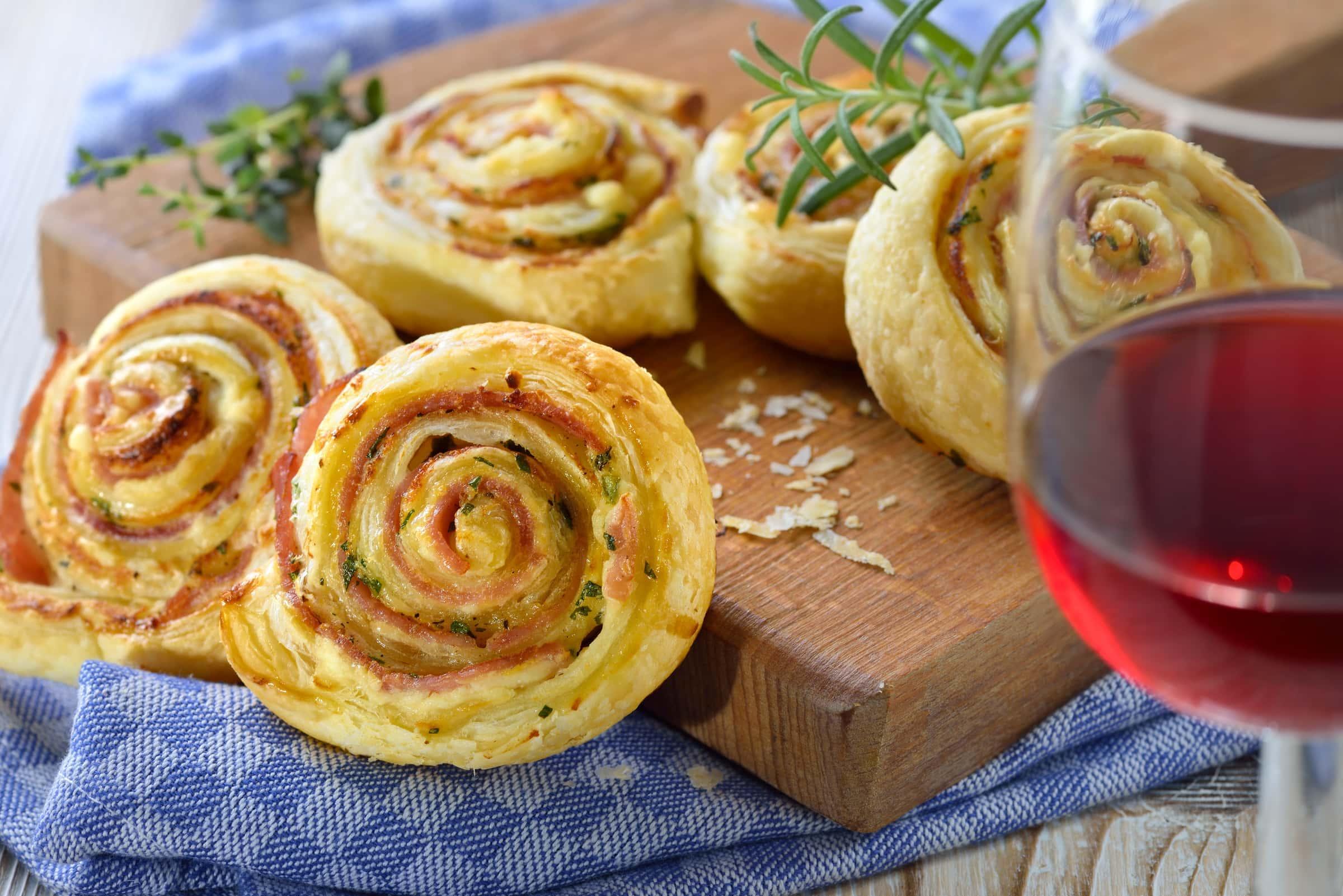 Ricetta Girelle di Pasta Sfoglia