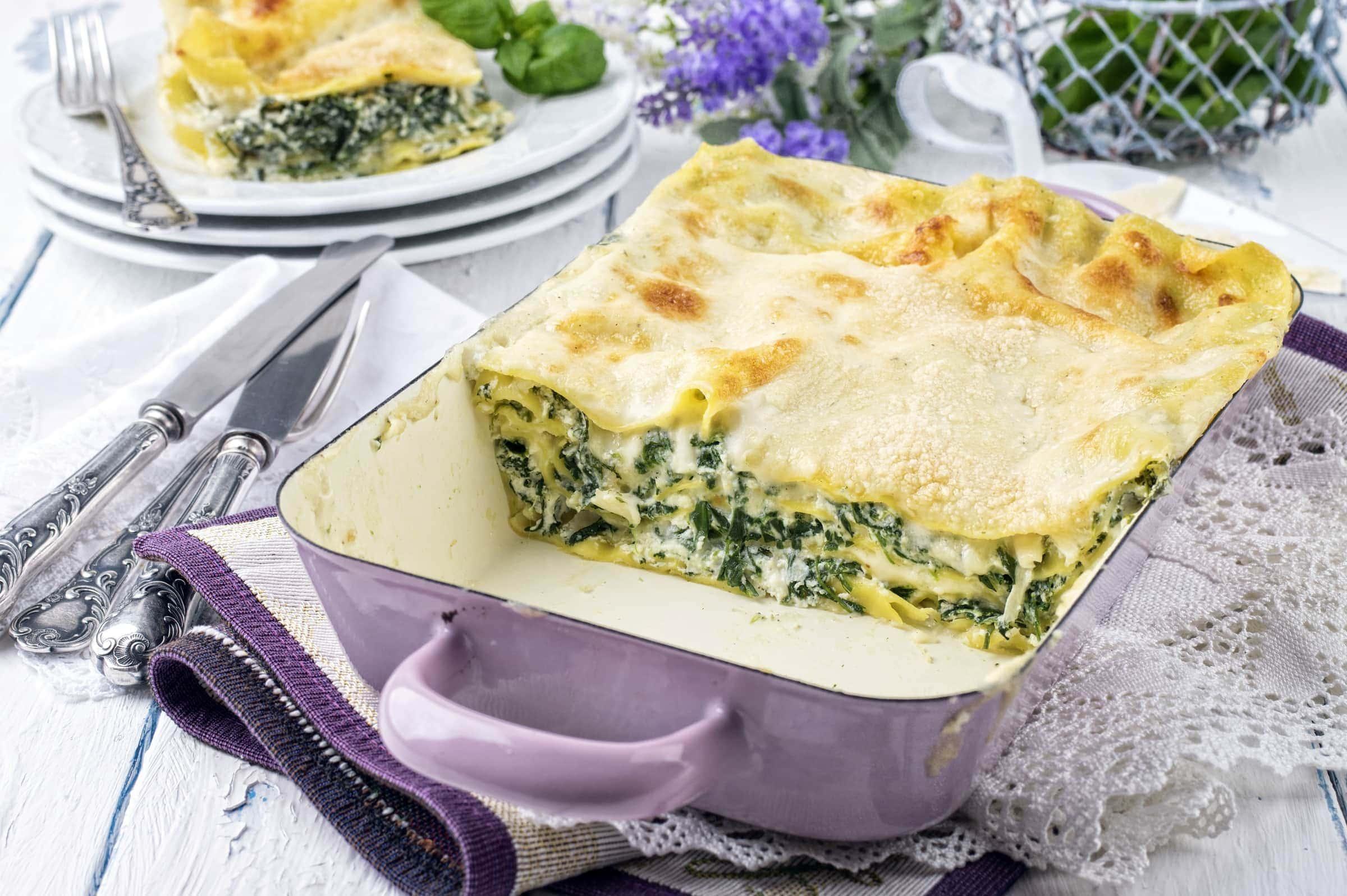 Ricetta Lasagne con Broccoli e Verza