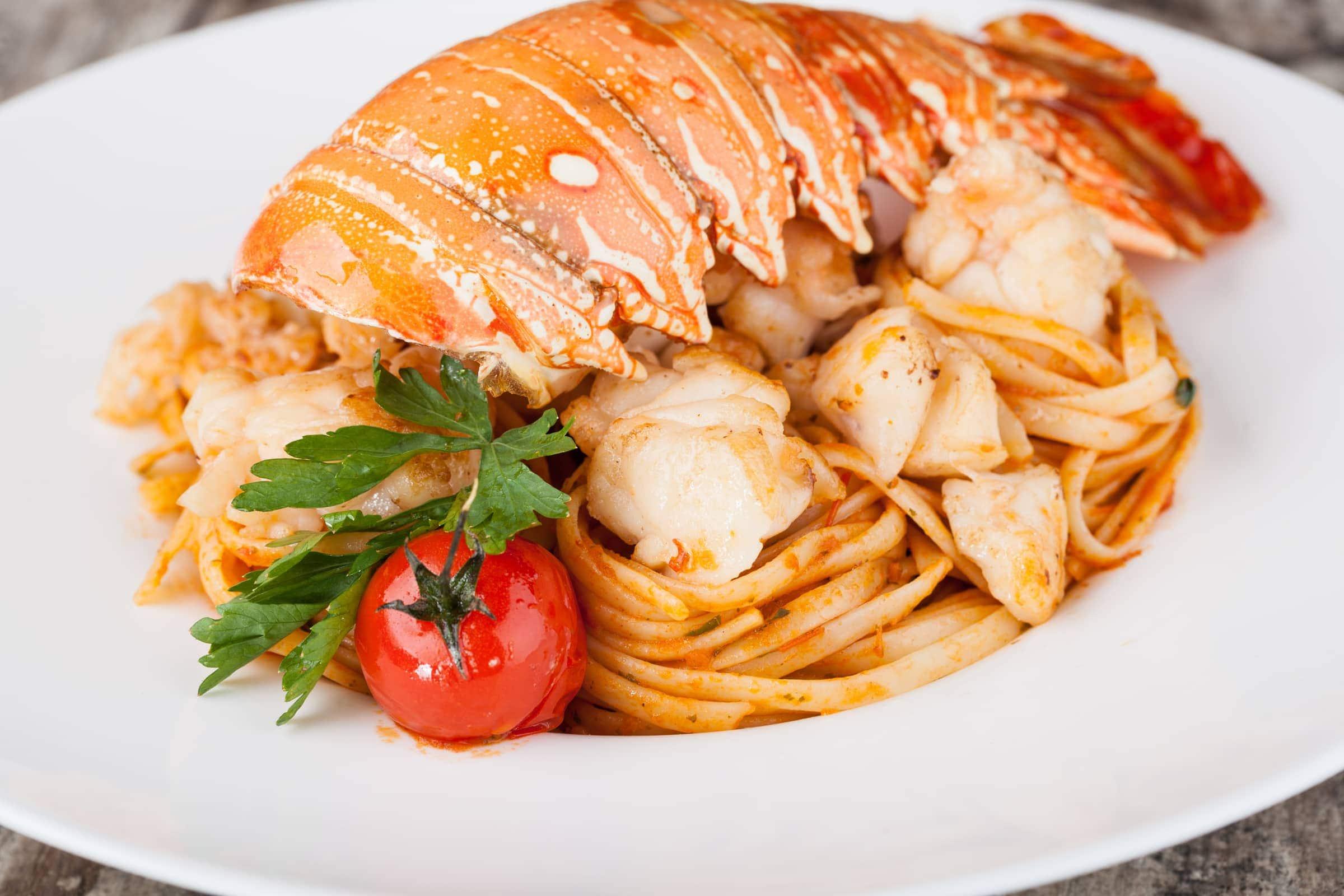 Ricetta Linguine all'Astice