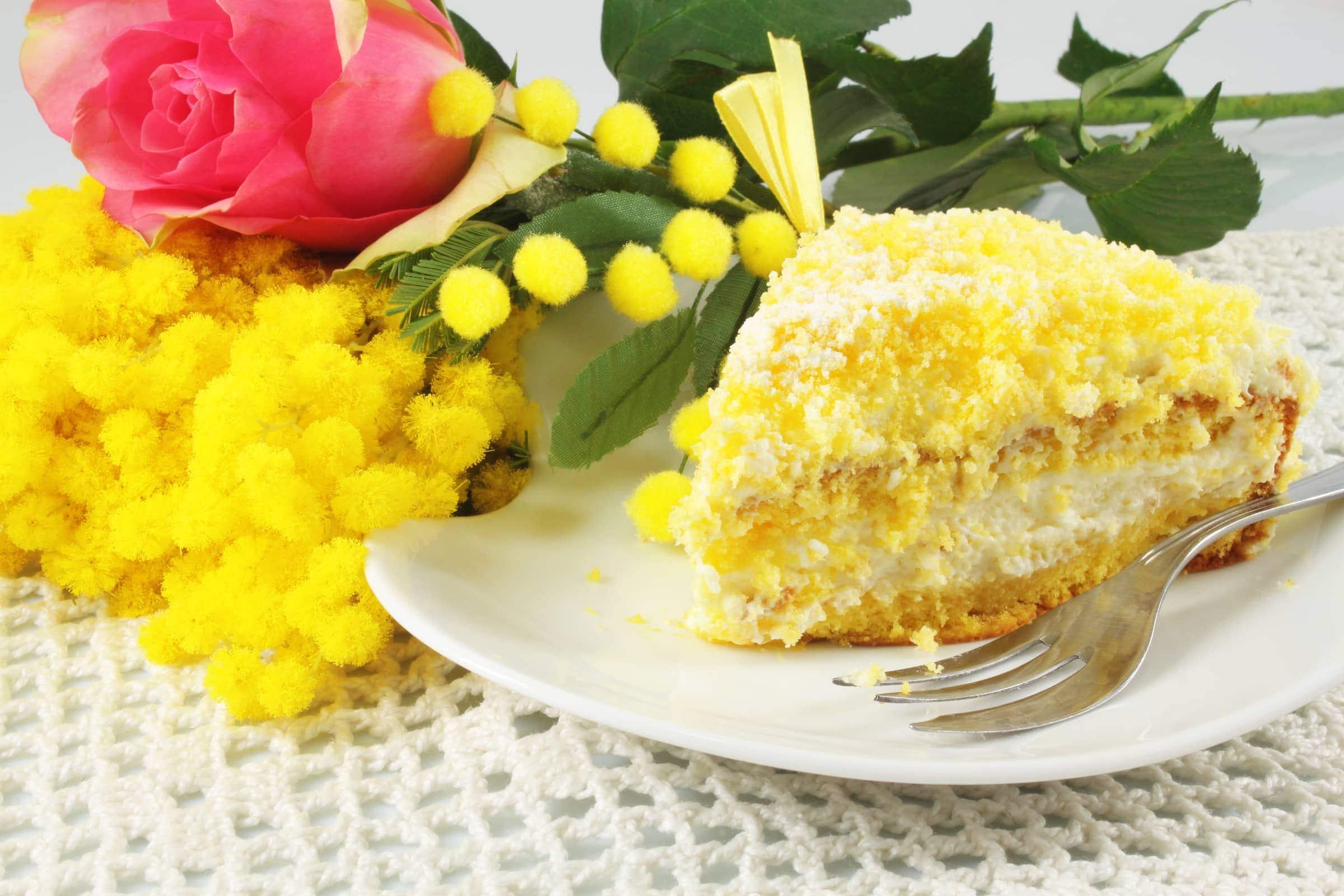promo code 94ebf b2632 Torta Mimosa all'Ananas