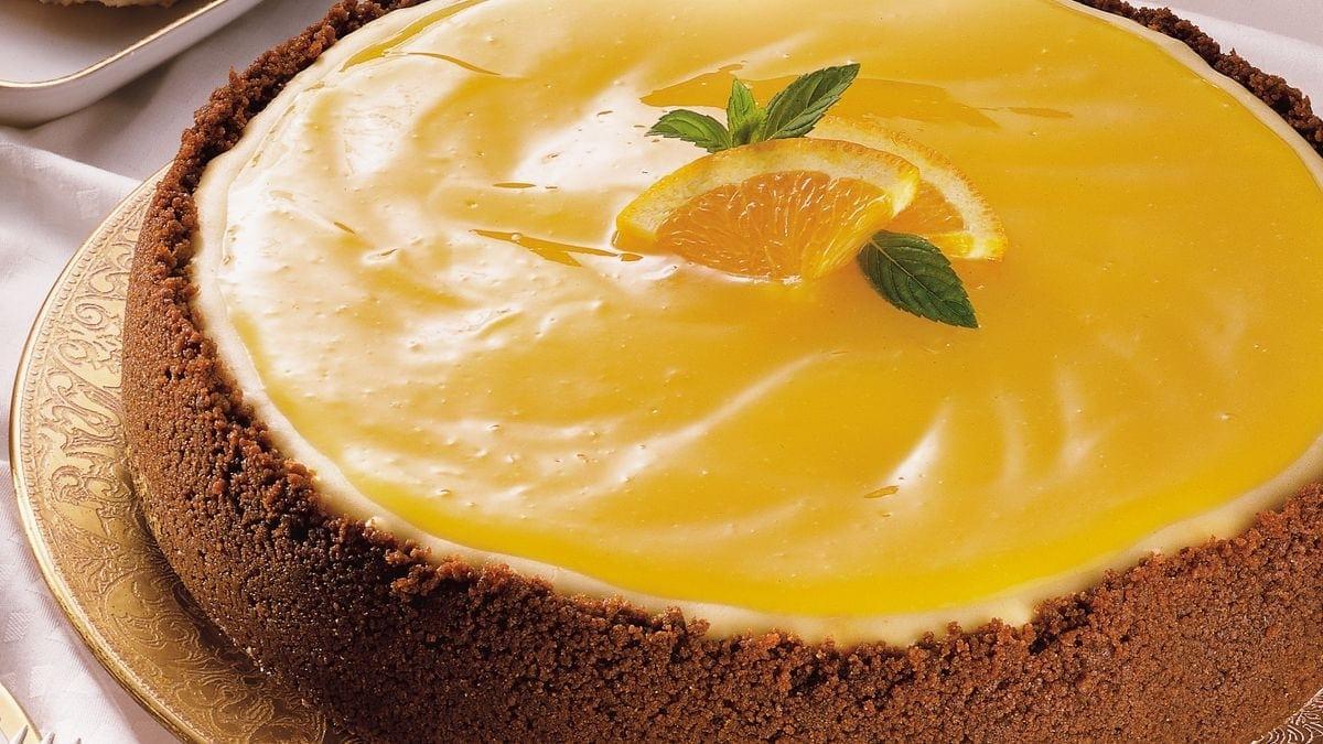 Ricetta Cheesecake all'Arancia con Gocce di Cioccolato