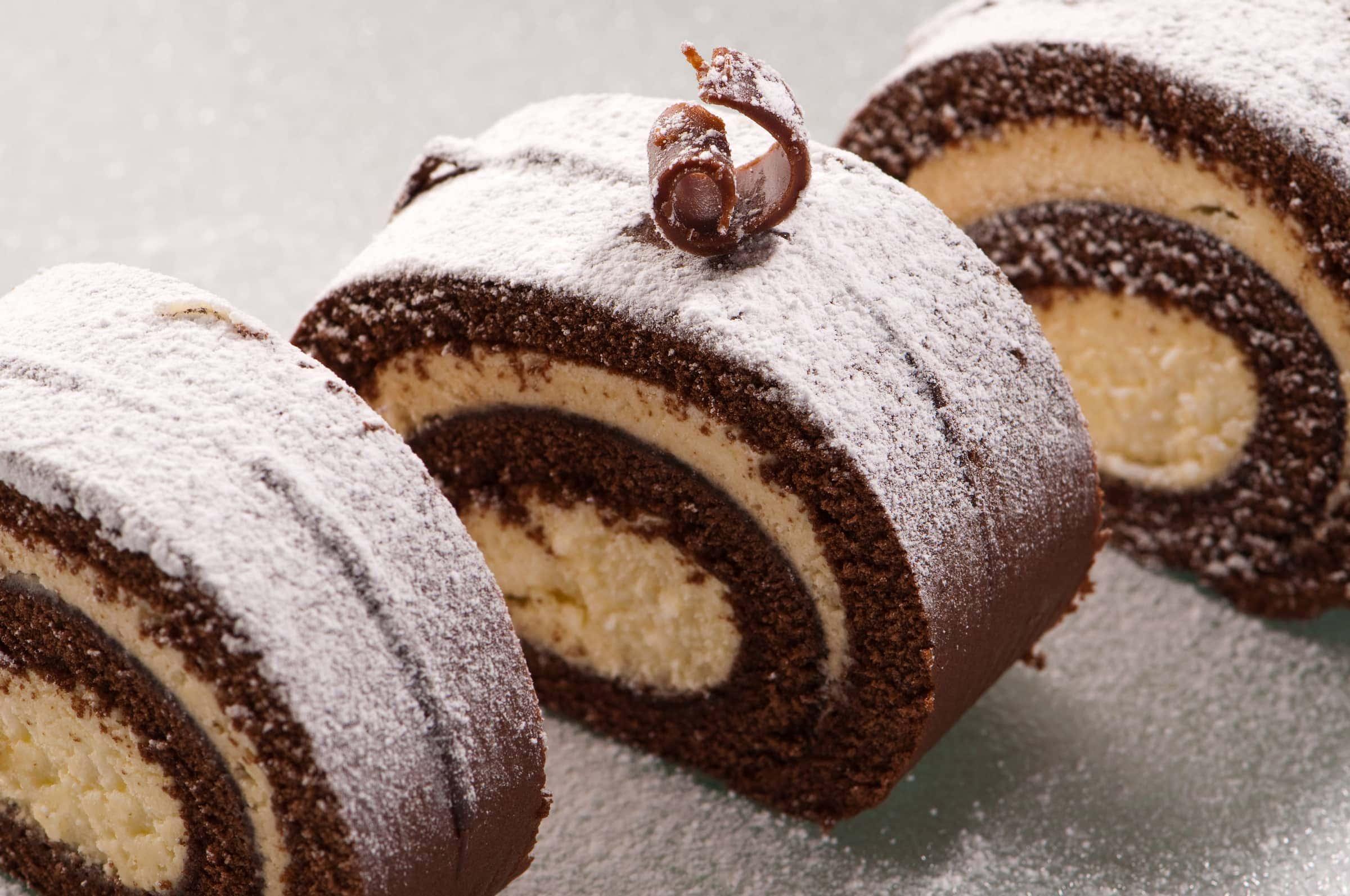 Ricetta Tronchetto Di Natale Alla Nutella.Tronchetto Di Natale Al Tiramisu E Nutella