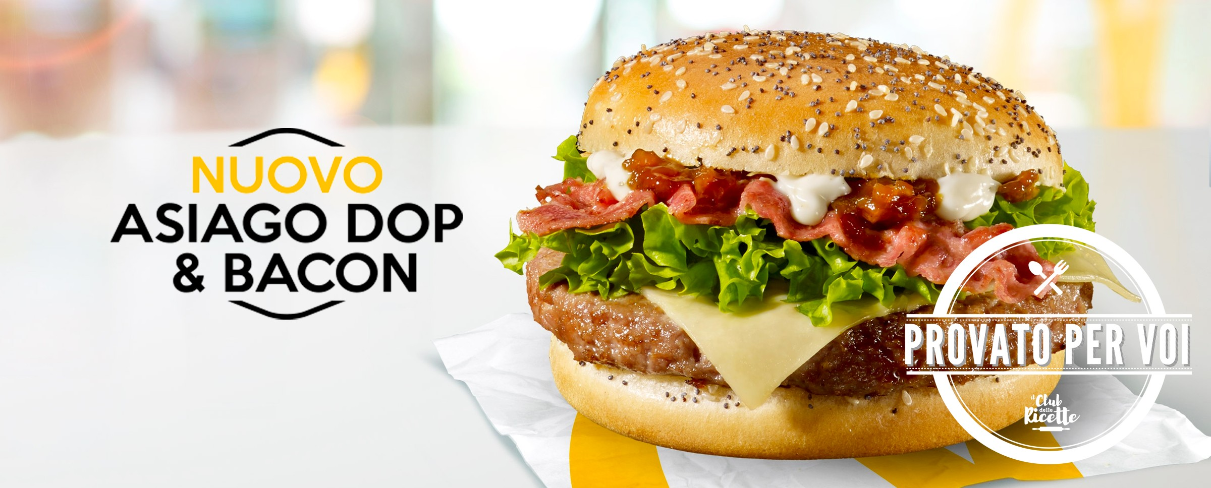 Mcdonald Myselection Asiago Dop Bacon